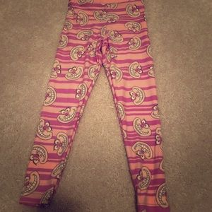 EUC! Kids Sm/Med Lularoe Disney Leggings